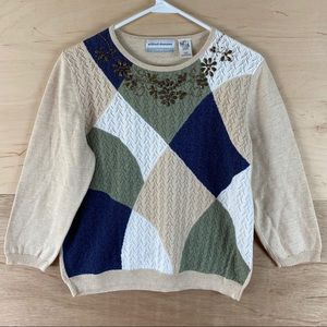 Vintage Alfred Dunner Sweater